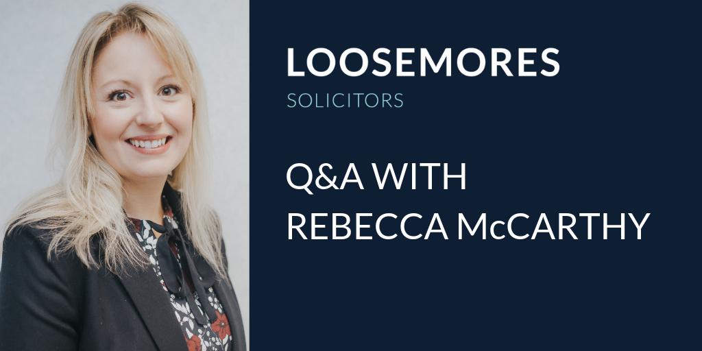 Q&A With Rebecca McCarthy