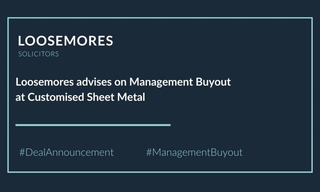 Customised Sheet Metal