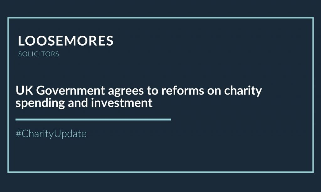 reforms on charity spending